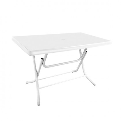 Square Foldable Table 70X120Cm