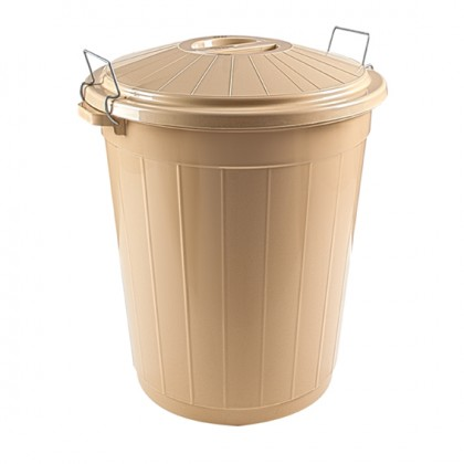 50 Lt Round Kitchen Dust Bin No:5 No Lid