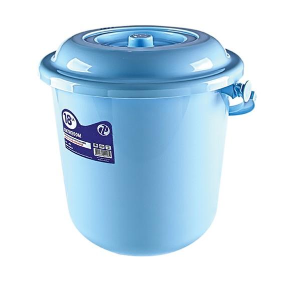 18 Lt Original Bucket With Lid, Plastic Handle