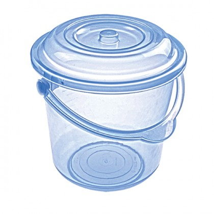 Sweet 18 Lt Original Bucket With Lid, Plastic Handle