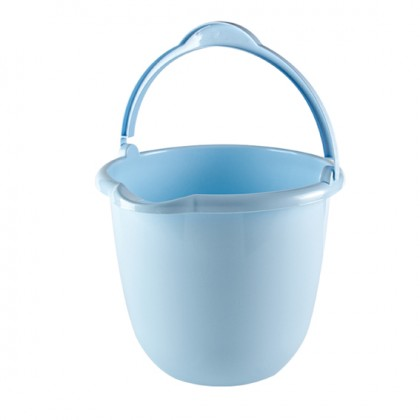 10 Lt Pail With Plastic Handle