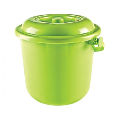 10 Lt Original Bucket With Lid, Plastic Handle