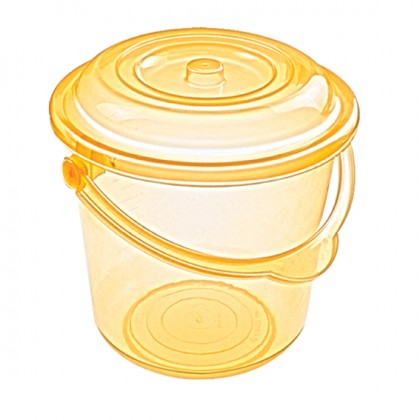 Sweet 10 Lt Original Bucket With Lid, Plastic Handle