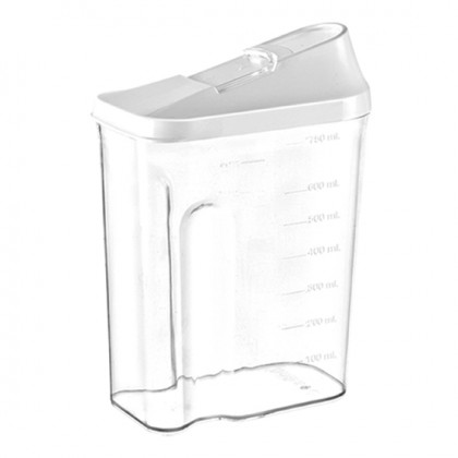 750 Ml Slide Lid Container
