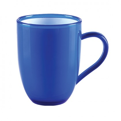 Aqua Oval Mug