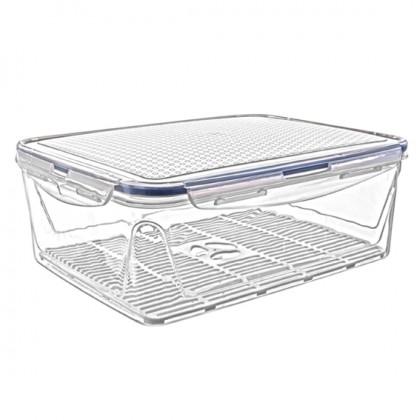 2,6 Lt Rectangular Airtight Storage Box