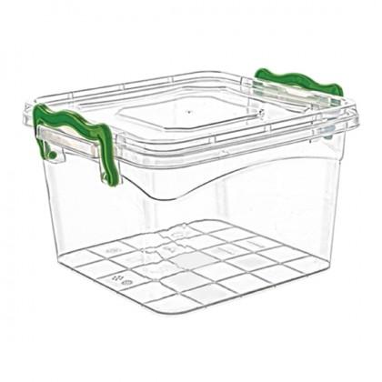 Square Box Easy Handle Lock 2.4 Lt