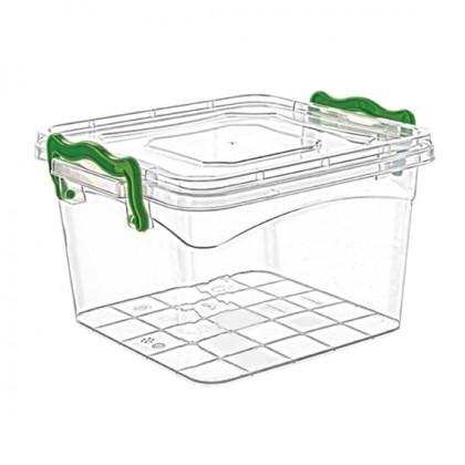 Square Box Easy Handle Lock 550 Ml