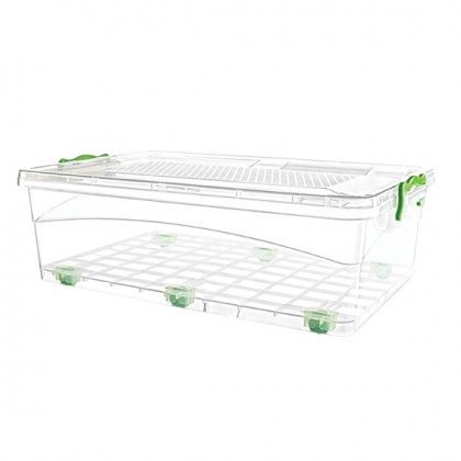 30 Lt Locked Storage Boxes With Wheels