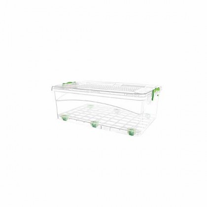 50 Lt Locked Storage Boxes With Wheels