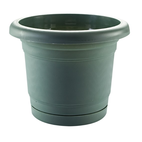 Troy Planter With Plate 31 Cm