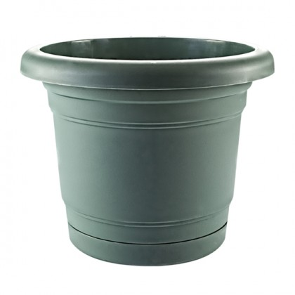 Troy Planter With Plate 39 Cm