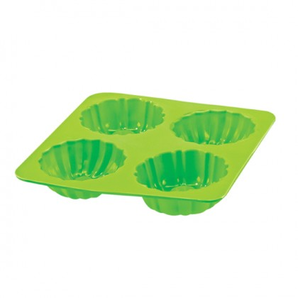 4 Cavities Cake Mould